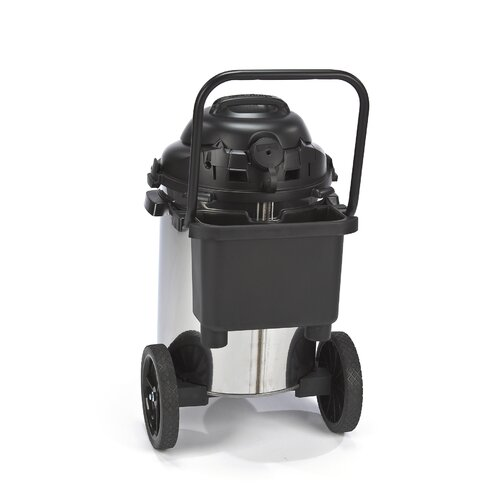 Shop-Vac 15 Gallon Stainless Steel 6.5 Peak HP Right Stuff Wet / Dry Vacuum