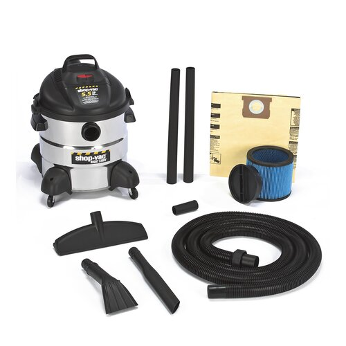 Shop-Vac 8 Gallon 5.5 Peak HP Right Stuff Wet / Dry Vacuum