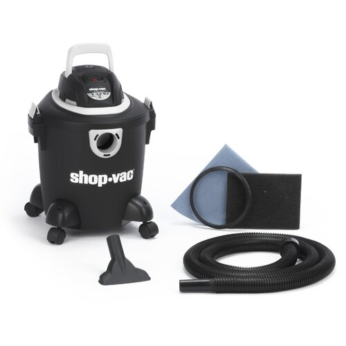 Shop-Vac Quiet Series 5 Gallon 2.0 Peak HP Wet Dry Vac