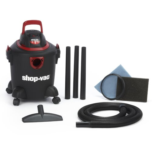 Shop-Vac Quiet Series 5 Gallon 2.25 Peak HP Wet Dry Vac