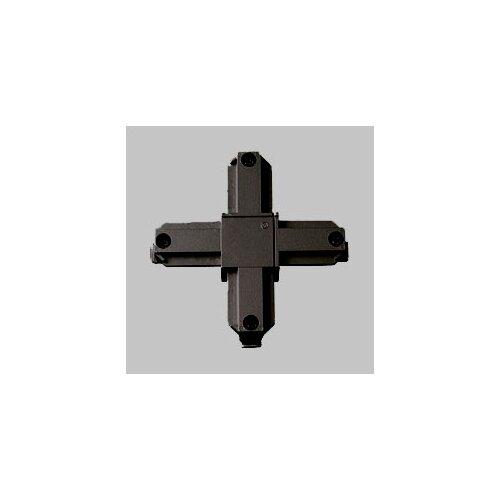 Alpha Trak Cross Connector in Black