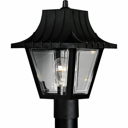 Progress Lighting Mansard Roof 1 Light Post Lantern
