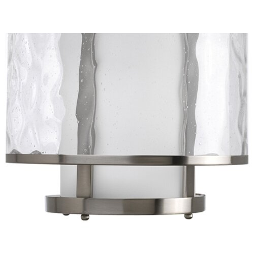 Progress Lighting Thomasville Bay Court  Pendant in Brushed Nickel