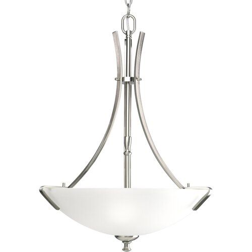 Westin Inverted Pendant in Brushed Nickel - Energy Star