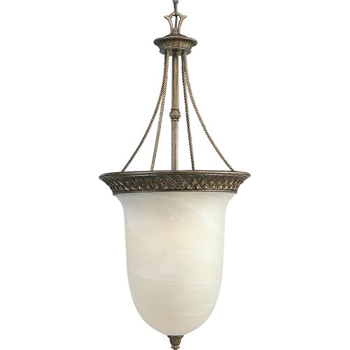 Progress Lighting Savannah 3 Light Foyer Pendant