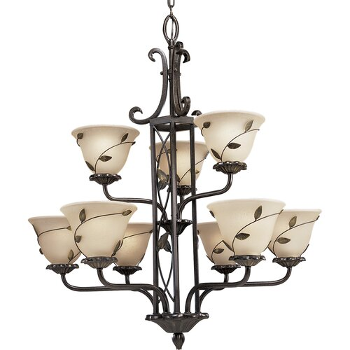 Eden 9 Light Chandelier