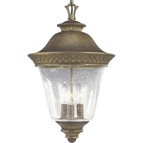 Progress Lighting Savannah 3 Light Hanging Lantern