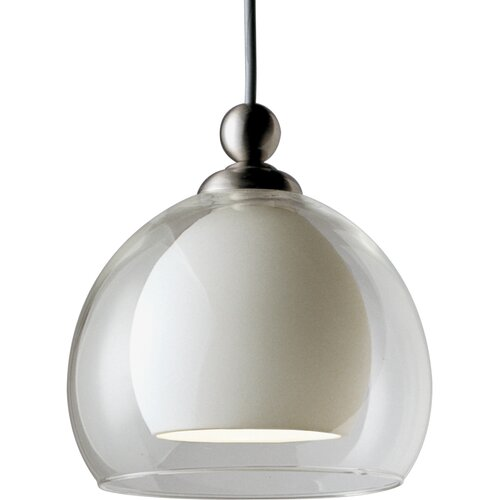 Progress Lighting Illuma-Flex 1 Light Dome Mini Pendant