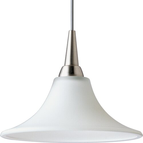 Progress Lighting Illuma-Flex 1 Light Trumpet Mini Pendant