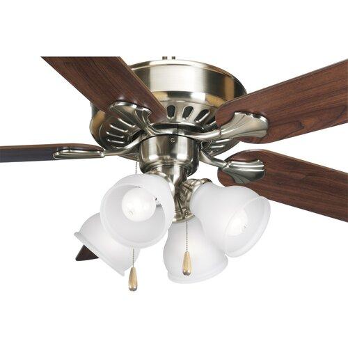 Quorum 3 Light Fabric Drum Ceiling Fan Light Kit & Reviews