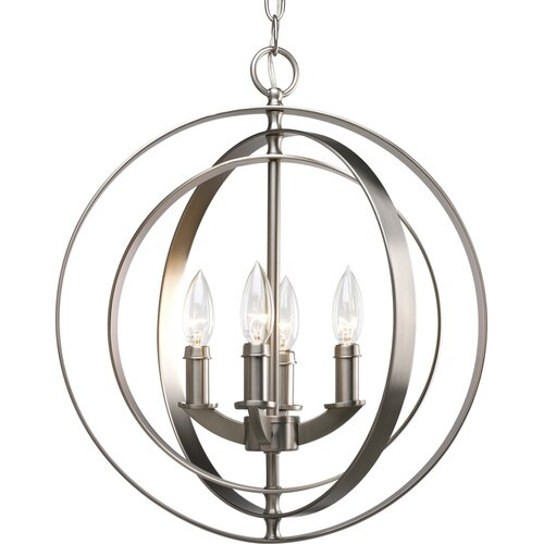 Progress Lighting Thomasville Equinox 4 Light Foyer Pendant