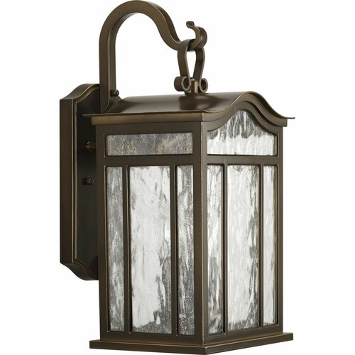 Progress Lighting Meadowlark Large 3 Light Outdoor Wall Lantern