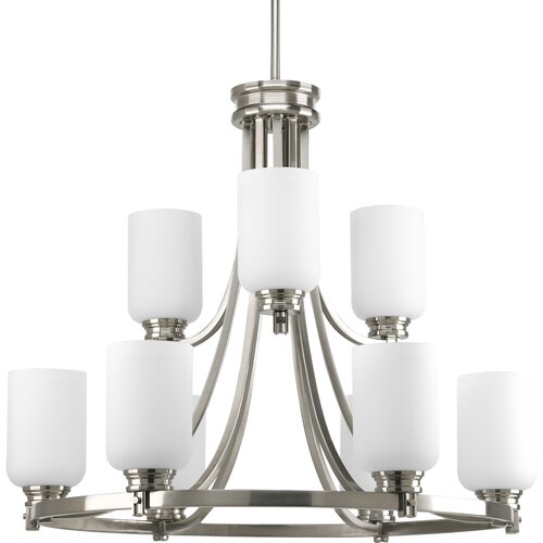 Progress Lighting Orbitz 9 Light Chandelier