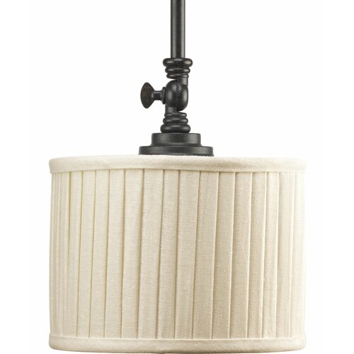 Progress Lighting Clayton 1 Light Mini Drum Pendant