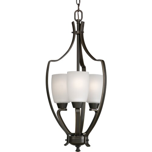 Progress Lighting Westin 3 Light Foyer Pendant