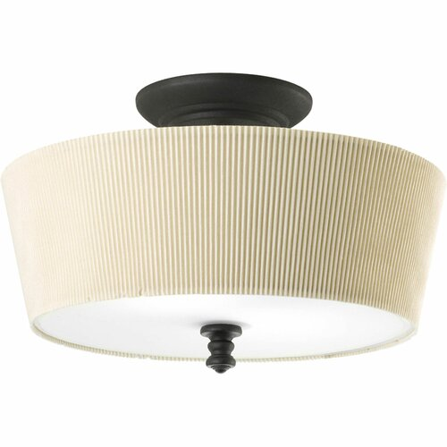 Meeting Street 2 Light Semi Flush Mount