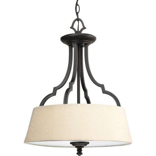Progress Lighting Meeting Street 3 Light Semi-Flush Mount
