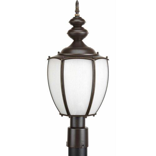 "Progress Lighting Roman Coach 1 Light 9.5"" Outdoor Post Lantern"
