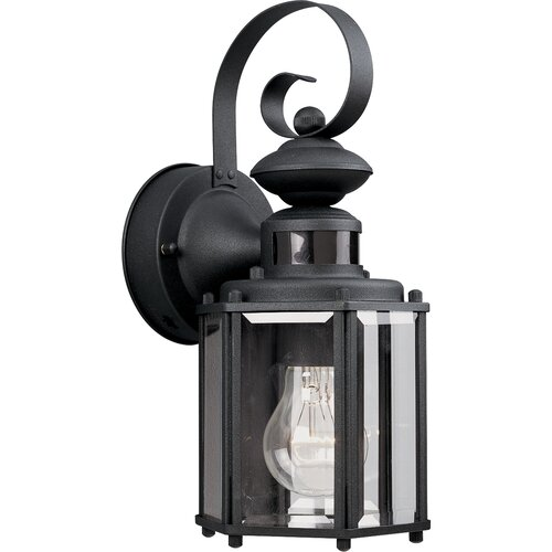 Progress Lighting Motion Sensor 1 Light Outdoor Wall Lantern