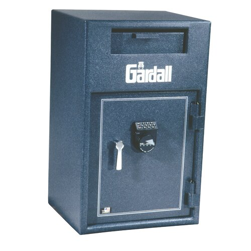 Gardall Safe Corporation Large Wide Body / Cash Dial Lock Commercial Register Tray Safe 2.7 CuFt