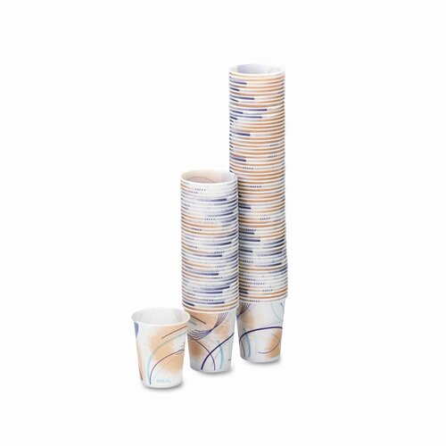 Solo Cups Company Paper Water Cups, 100/Pack