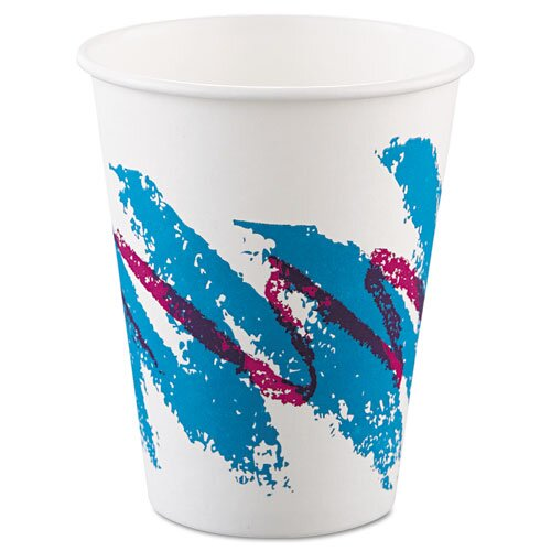 Solo Cups Jazz 8 oz. Hot Paper Cups