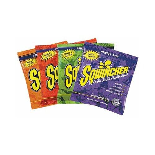 Sqwincher Powder Packs - 1 gal asst pk 4 box permcs 80 pkgs powder drink