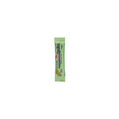 Sqwincher Green Tea 0.11 Ounce Hot Stik Lite Powder Dry Mix Yields 8 Ounces (50 Single Serving Drink Mix Packs Per Bag)