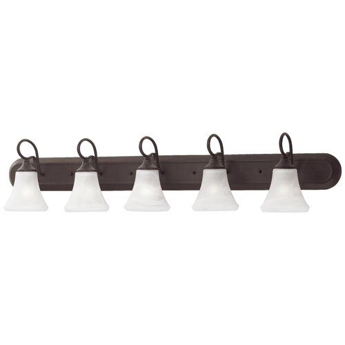Thomas Lighting Elipse Strip 5 Light Vanity Light
