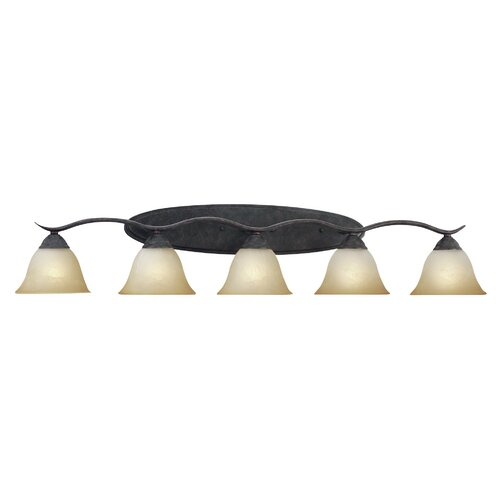 Thomas Lighting Prestige Strip 5 Light Vanity Light