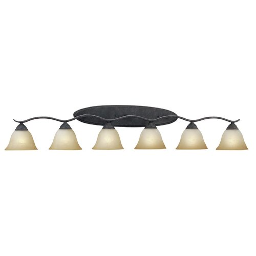 Thomas Lighting Prestige Strip 6 Light Vanity Light