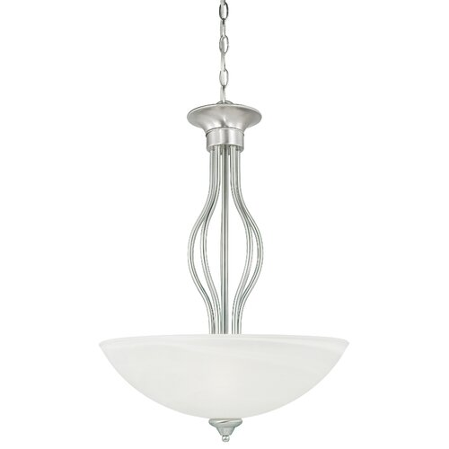 Thomas Lighting Tahoe 3 Light Inverted Pendant