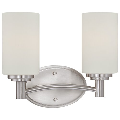 Thomas Lighting Pittman 2 Light Bath Vanity Light