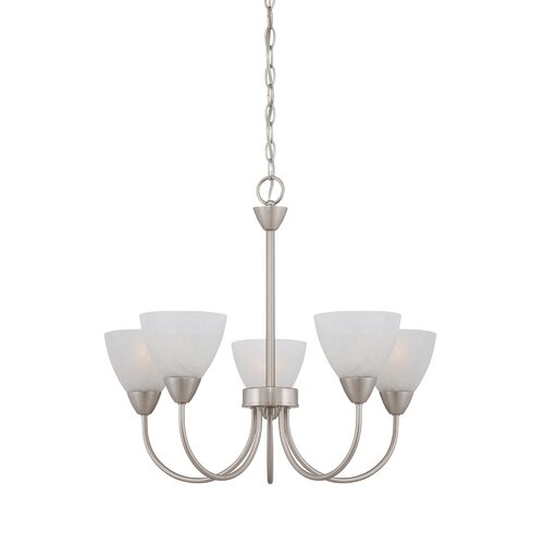 Thomas Lighting Tia 5 Light Chandelier