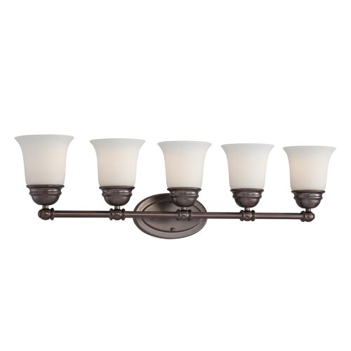 Thomas Lighting Bella 5 Light Bath Vanity Light