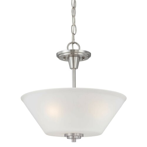 Pittman 2 Light Inverted Pendant