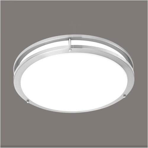 "Thomas Lighting 1 Light 14"" Flush Mount"