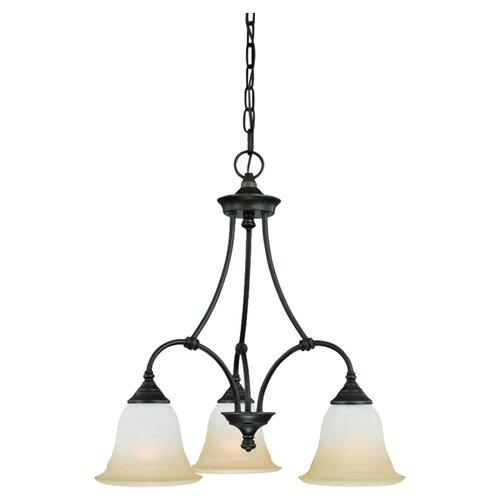 Harmony 3 Light Chandelier
