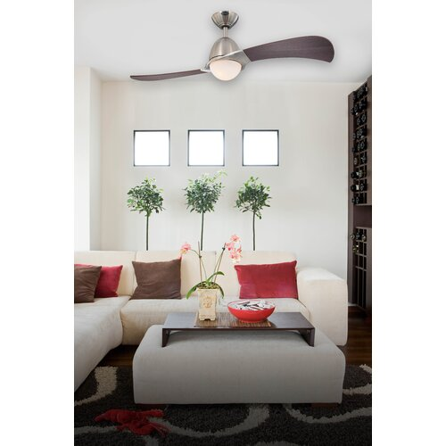 "Westinghouse Lighting 48"" Solana 2 Blade Ceiling Fan with Remote"