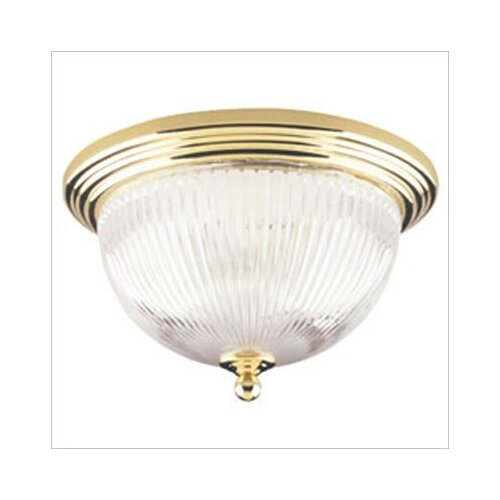"Westinghouse Lighting 7.25"" 2 Light Flush Mount"