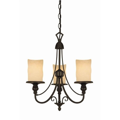 Westinghouse Lighting Hearthstone 3 Light Chandelier