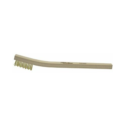 Weiler Small Hand Scratch Brushes - sb-310 Small Hand Wire Scratch Brush .005