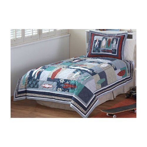 PEM America Surfing USA Quilt Set