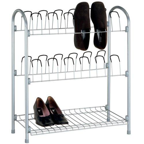 Wire Shoe Rack (Set of 3)