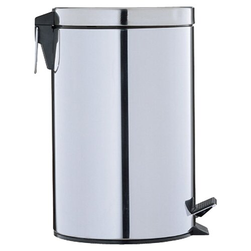 OIA Step-On 3.125-Gal. Round Trash Can