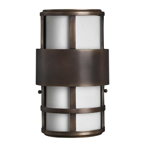 Hinkley Lighting Saturn Outdoor 2 Light Wall Sconce