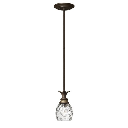 Plantation 1 Light Mini Pendant