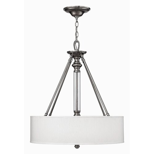 Hinkley Lighting Sussex 3 Light Drum Pendant