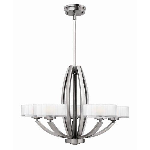 Hinkley Lighting Meridian 5 Light Chandelier