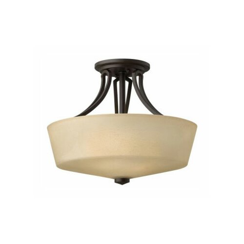 Parker 2 Light Semi Flush Mount
